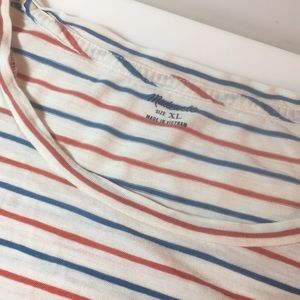 Madewell striped tee shirt